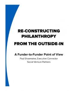 Re-Constructing Philanthropy